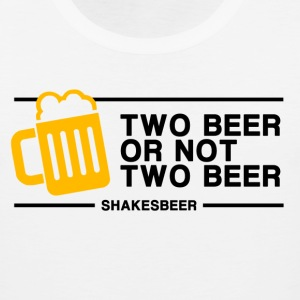 Two beer or Not Two Beer T-Shirts - Men's Premium Tank