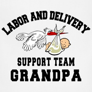 Grandpa To Be T-Shirt - Adjustable Apron