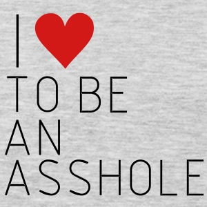 Sorry i love to be a asshole, asshole, idiot,funny Women's T-Shirts - Men's Premium Long Sleeve T-Shirt