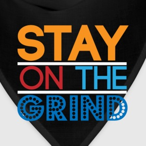 Stay on the Grind T-Shirts - Bandana