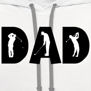 Golf Dad T-Shirt - Contrast Hoodie