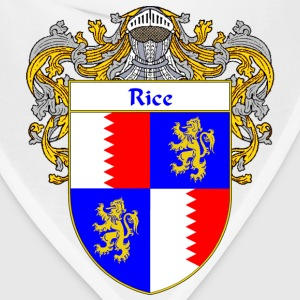 Rice Coat of Arms/Family Crest - Bandana