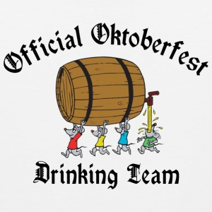 Oktoberfest Drinking Team T-Shirt - Men's Premium Tank
