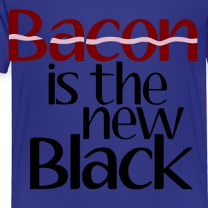 Bacon Is The New Black Kids' Shirts - Toddler Premium T-Shirt