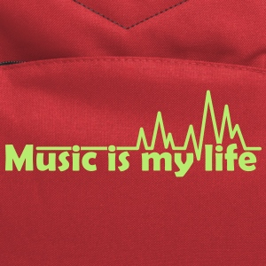 music is my life T-Shirts - Computer Backpack