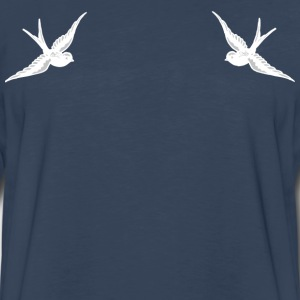 Tattoo Swallow - Men's Premium Long Sleeve T-Shirt