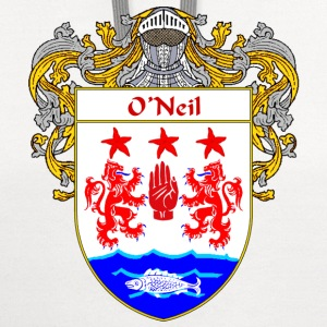 O'Neil Coat of Arms/Family Crest - Contrast Hoodie