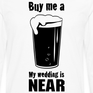 Buy Me a Beer - Men's Premium Long Sleeve T-Shirt