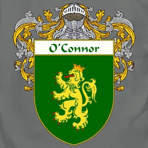 O'Connor Coat of Arms/Family Crest - Unisex Fleece Zip Hoodie by American Apparel