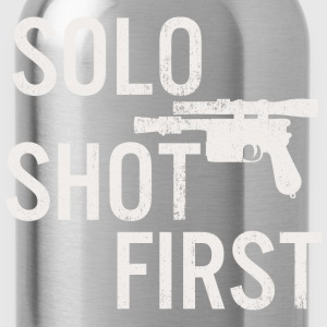 Solo Shot First T-Shirts - Water Bottle