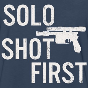 Solo Shot First T-Shirts - Men's Premium Long Sleeve T-Shirt