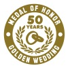 MEDAL OF HONOR 50th GOLDEN WEDDING T-Shirt - Men's Premium T-Shirt