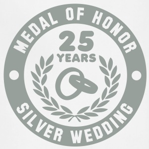 MEDAL OF HONOR 25th SILVER WEDDING T-Shirt - Adjustable Apron