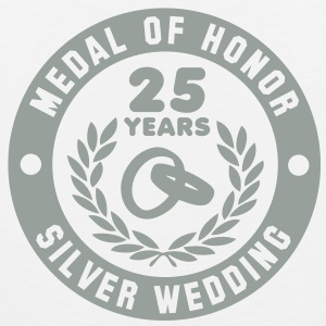MEDAL OF HONOR 25th SILVER WEDDING T-Shirt - Men's Premium Tank