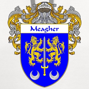 Meagher Coat of Arms/Family Crest - Contrast Hoodie
