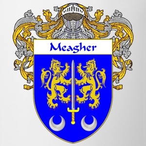 Meagher Coat of Arms/Family Crest - Coffee/Tea Mug