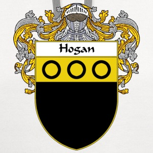 Hogan Coat of Arms/Family Crest - Contrast Hoodie
