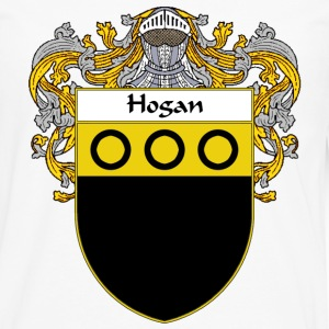 Hogan Coat of Arms/Family Crest - Men's Premium Long Sleeve T-Shirt