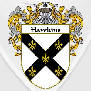 Hawkins Coat of Arms/Family Crest - Bandana
