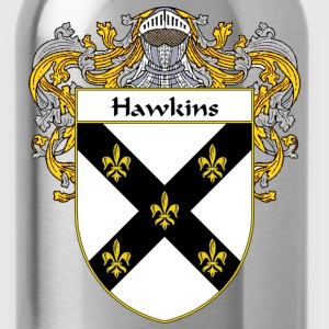 Hawkins Coat of Arms/Family Crest - Water Bottle