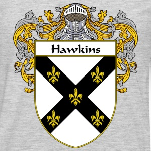 Hawkins Coat of Arms/Family Crest - Men's Premium Long Sleeve T-Shirt