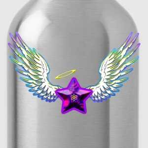 Women's Tee - Star with Ethereal Wings - Water Bottle