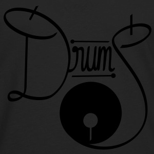 White Drums - Men's Premium Long Sleeve T-Shirt