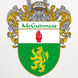 McGuinness Coat of Arms/Family Crest - Contrast Hoodie