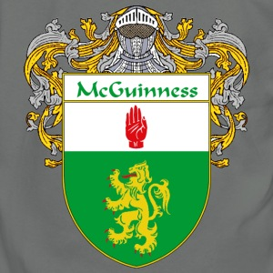 McGuinness Coat of Arms/Family Crest - Unisex Fleece Zip Hoodie by American Apparel