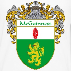 McGuinness Coat of Arms/Family Crest - Men's Premium Long Sleeve T-Shirt