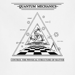 Quantum Mechanics - Surreal - Adjustable Apron