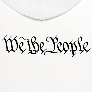 We the People - Contrast Hoodie