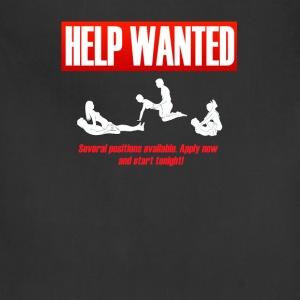 helpwanted T-Shirts - Adjustable Apron