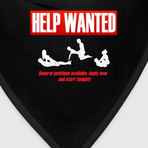 helpwanted T-Shirts - Bandana