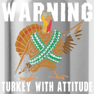 Funny Thanksgiving T-Shirt - Water Bottle