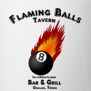 Flaming Balls Tavern, Bar & Grill,  Dallas Texas T-Shirts - Coffee/Tea Mug