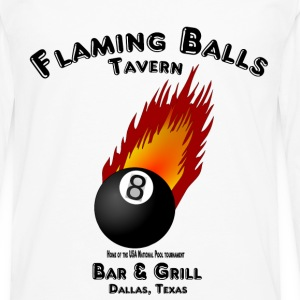 Flaming Balls Tavern, Bar & Grill,  Dallas Texas T-Shirts - Men's Premium Long Sleeve T-Shirt