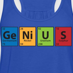 Ge.Ni.U.S T-Shirts - Women's Flowy Tank Top by Bella