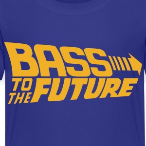 Bass to the Future Kids' Shirts - Toddler Premium T-Shirt