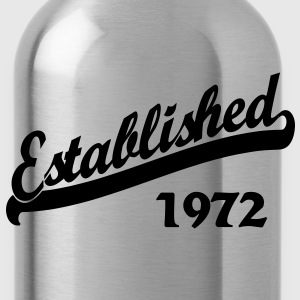 Established 1972 Women's T-Shirts - Water Bottle