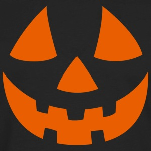 Jack o Lantern T-shirt Orange - Men's Premium Long Sleeve T-Shirt