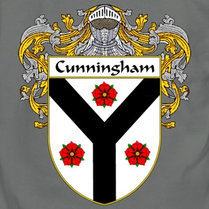 Cunningham Coat of Arms/Family Crest - Unisex Fleece Zip Hoodie by American Apparel