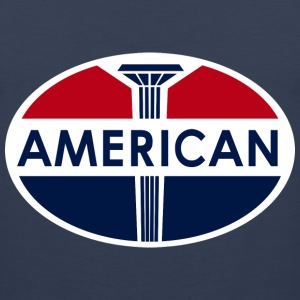 American Gas Station sign. Flat and clean version - Men's Premium Tank
