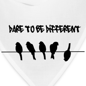 Dare to be Different Birds on a wire Women's T-Shirts - Bandana