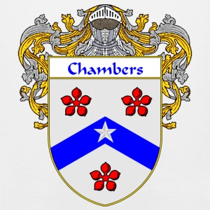 Chambers Coat of Arms/Family Crest - Men's Premium Tank