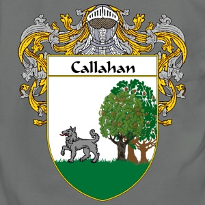 Callahan Coat of Arms/Family Crest - Unisex Fleece Zip Hoodie by American Apparel