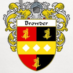 Browder Coat of Arms/Family Crest - Contrast Hoodie