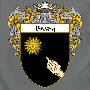 Brady Coat of Arms/Family Crest - Unisex Fleece Zip Hoodie by American Apparel