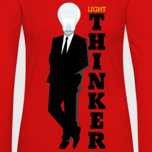 Light Thinker - Women's Premium Long Sleeve T-Shirt