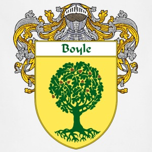 Boyle Coat of Arms/Family Crest - Adjustable Apron